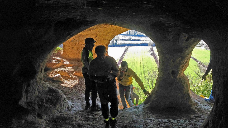 Urban Trekking a Roma Nord (grotta di Grottarossa)