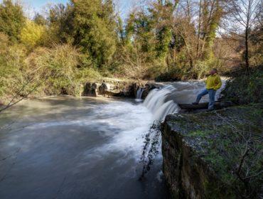 la cascata di Piasciacavallo - foto di Giulio Giuliani (2