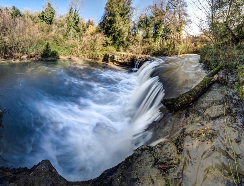 la cascata di Formello di Piasciacavallo - foto di Giulio Giuliani