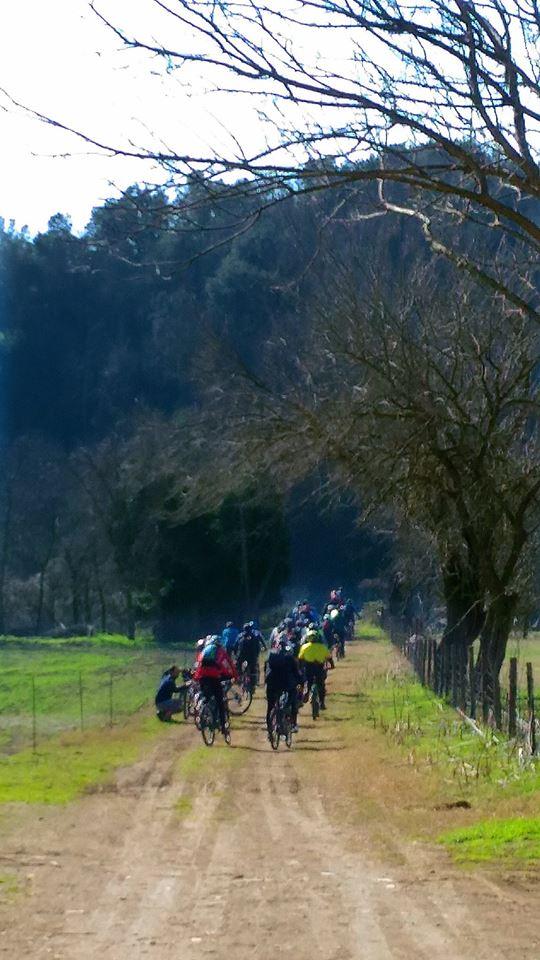 lungo il grande anello in bici di Roma Nord foto di R. Mieli (dalla Polense alla Clodia