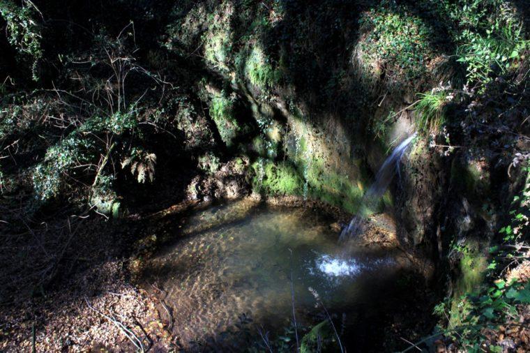 cascata della Macchia della Signora