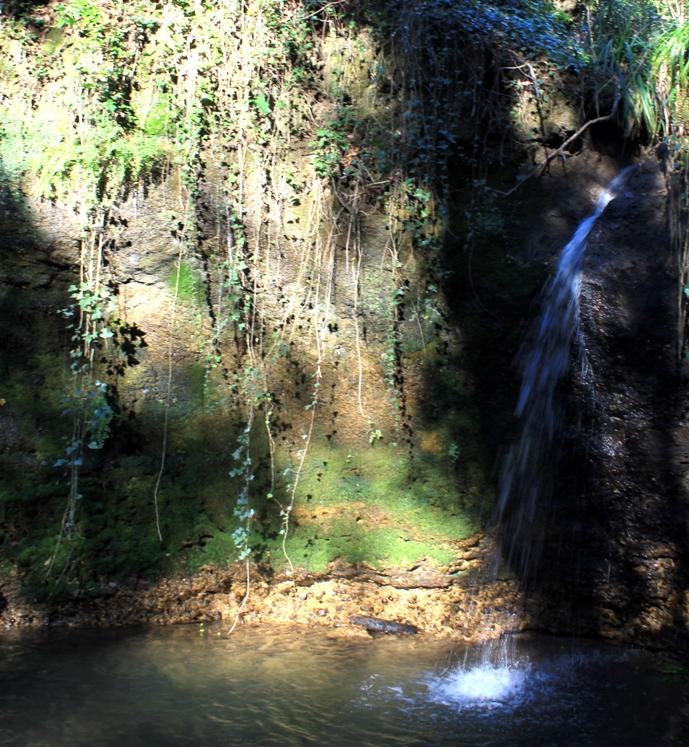 cascata della Macchia della Signora.