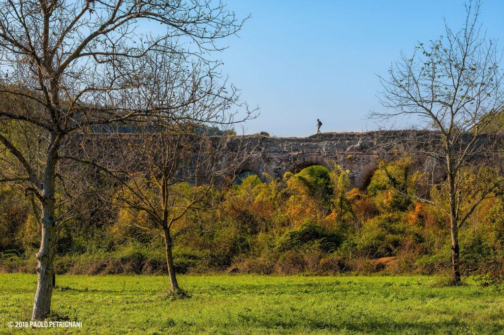 Ponte della Mola - presso Ponte S. Pietro - foto di P. Petrignani