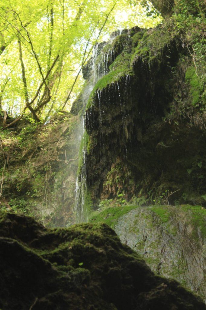 cascata presso Ponte S. Pietro - presso la Polense