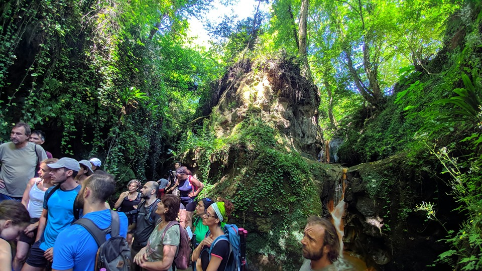 acqua trekking - dii g.giuliani . luoghi segreti e aziende