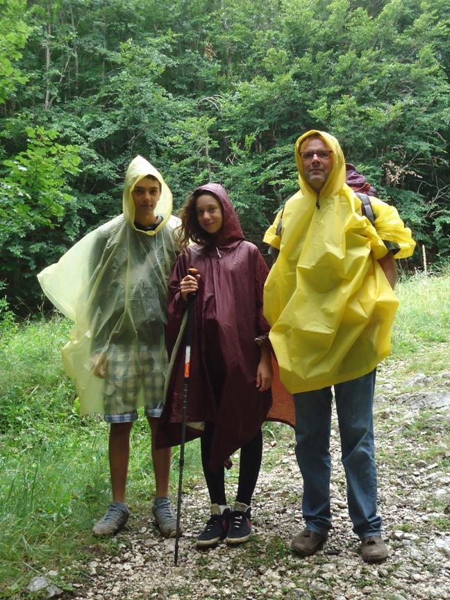 Luoghi segreti e guide ambientali escursionistiche - prima della pioggia