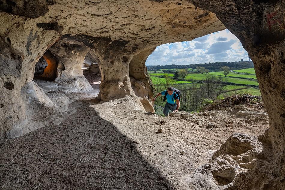 conclusione e credits - la grotta di Grottarossa - foto di P. Petrignani