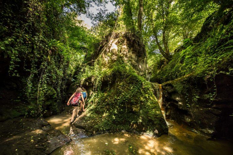acqua trekking a C.vo di Porto - esplorare i luoghi segreti foto di Giulio Giuliani