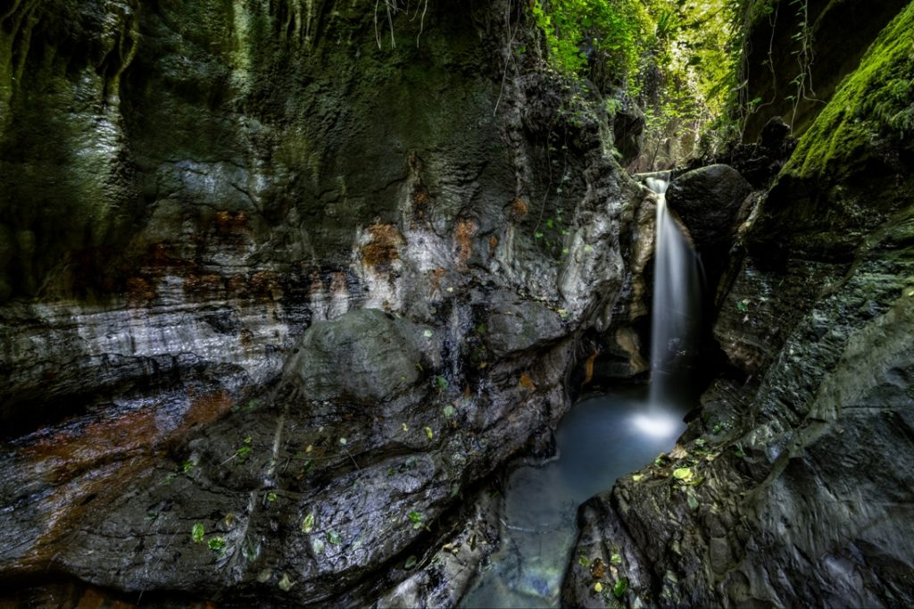 acqua trekking vicino Roma fosso dell'Acqua Forte - foto di giulio giuliani