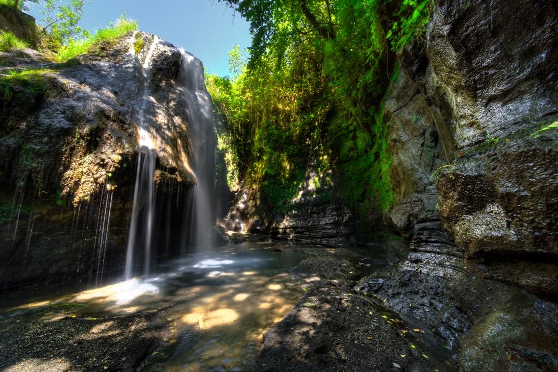 cascata dell'Ogliararo C.vo di Porto - foto di Giulio GIuliani