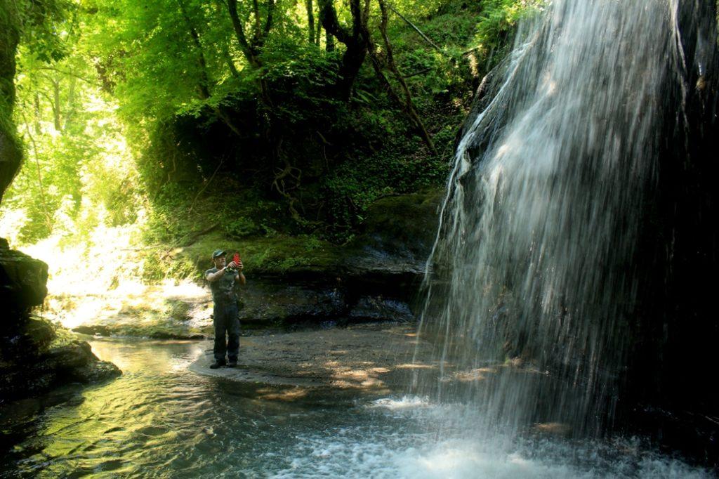 magico Acqua Trekking vicino Roma