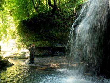 La cascata del fosso dell'Ogliararo