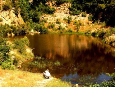 La cava di caolino di Santa Severa