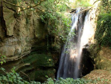 l'inaspettata cascata dell'Olgiata