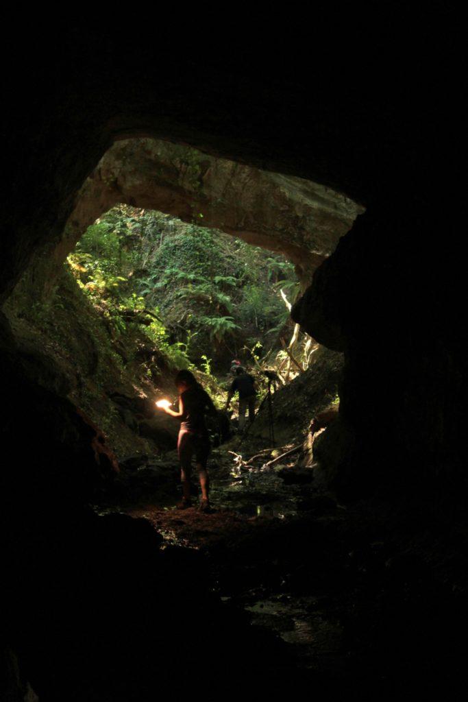 nella galleria etrusca dei Pozzali