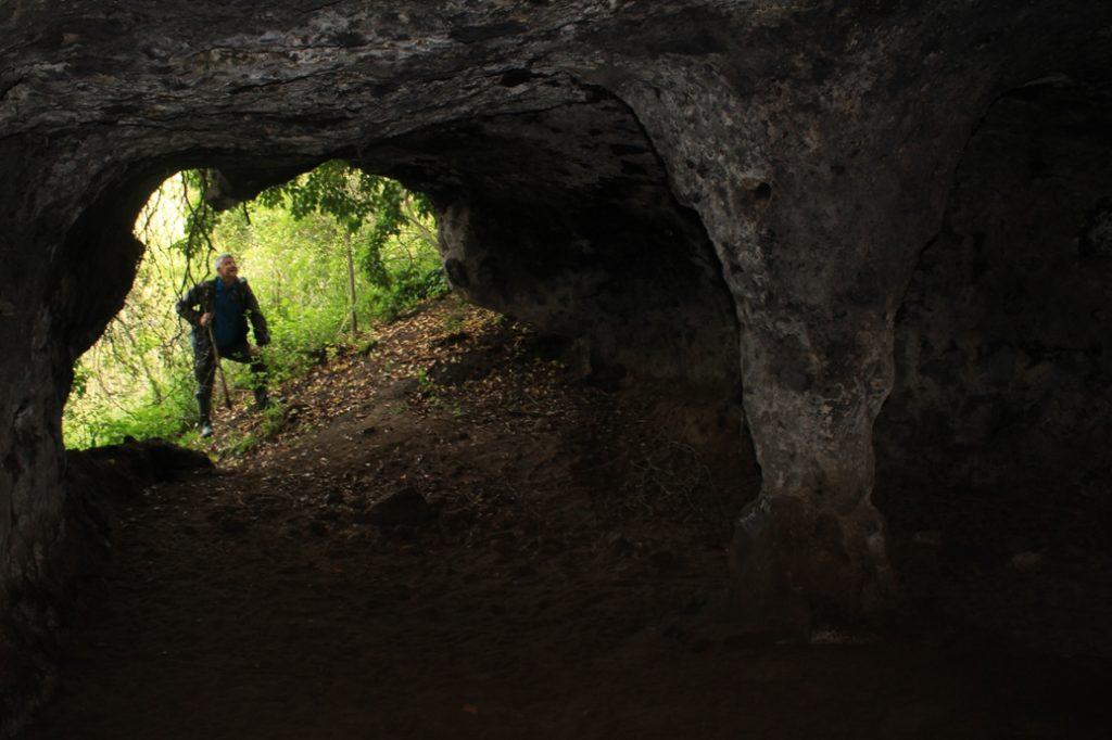 nelle grotte vecchiarelli