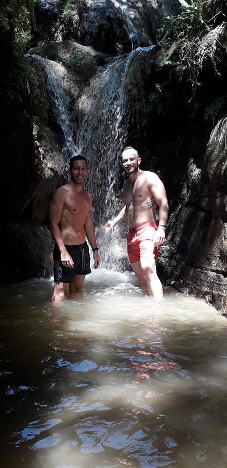 come cambiano le cascate - la cascata dell'Ogliararo il 14 luglio 2019