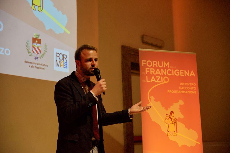 Federico Palla - assessore cultura Formello