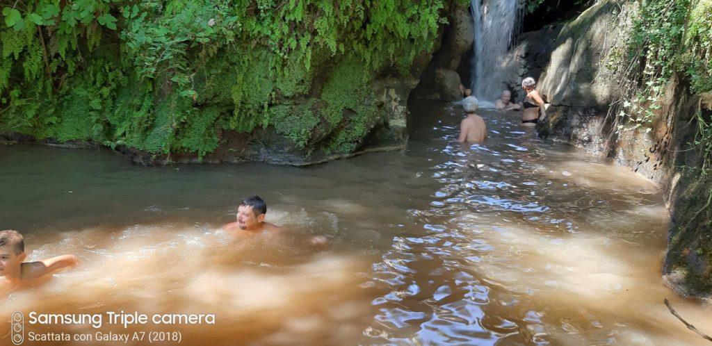 come cambiano le cascate - la cascata dell'Ogliararo il 3 agosto 2019. - fioto di A. D'Achille