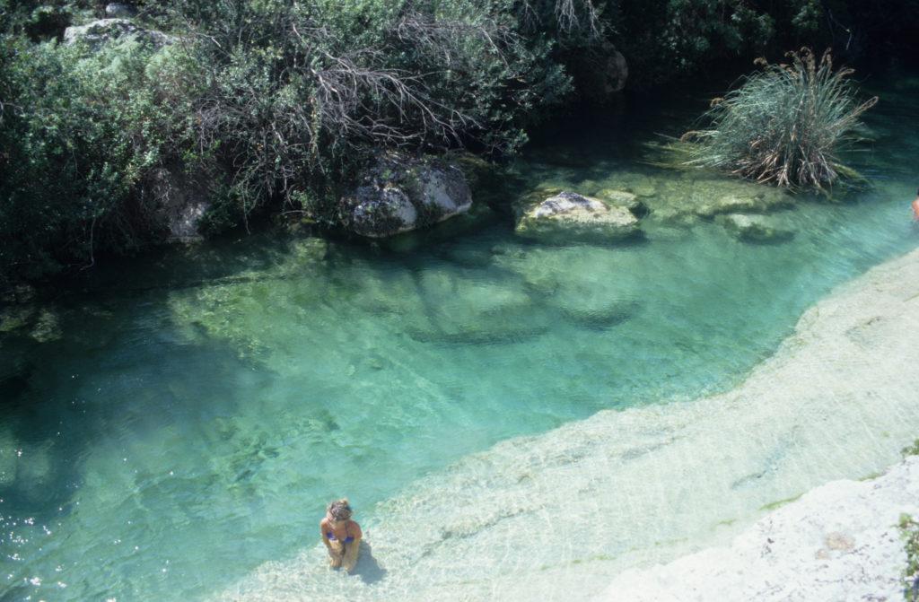 luoghi segreti e coronavirus - lungo il Cassibile (Sicilia) - e non Caraibi.
