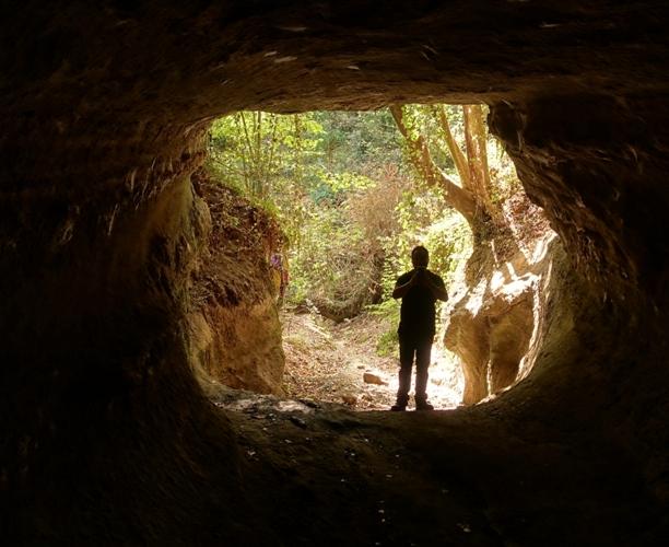 la vera specie da proteggere. Le forre e le gallerie etrusche di Formello. Foto di Matteo Bordini.