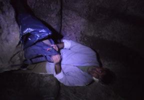 la vera specie da proteggere. La pulizia della galleria etrusca presso via di Gobbi a Formello.