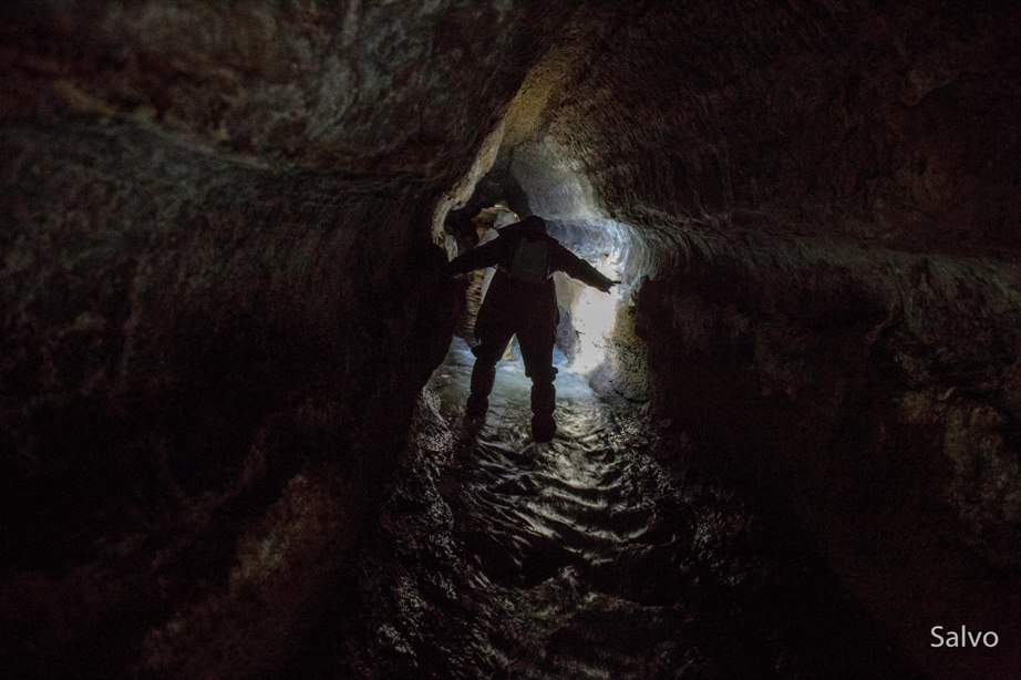 Coronavirus e Turismo di Comunità. Seconda parte. Le gallerie etrusche di Formello. Foto di Salvo Ricotta.