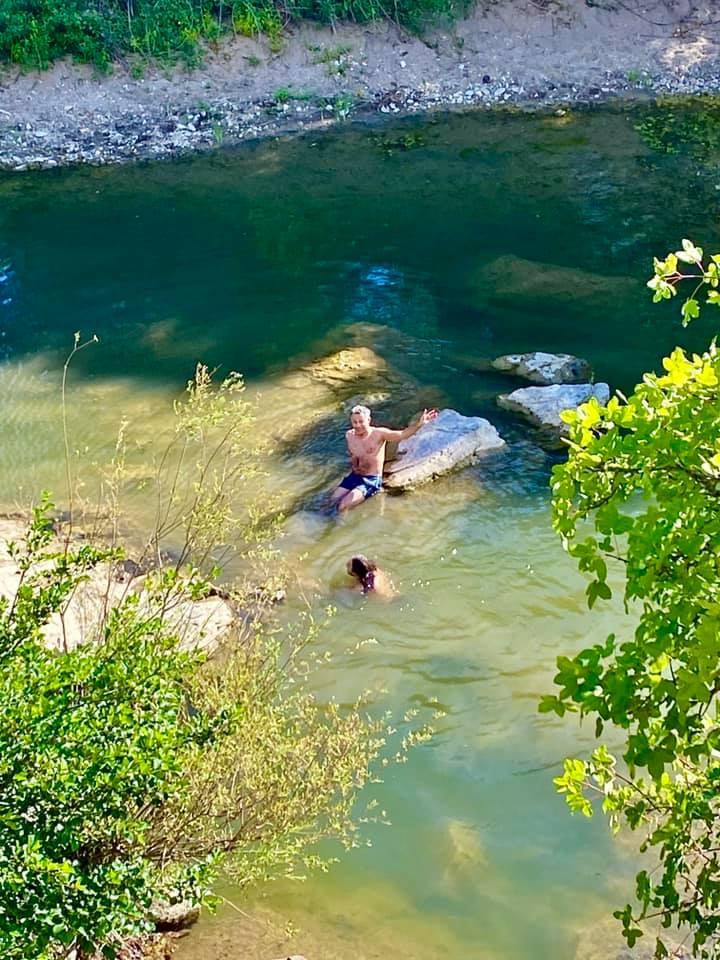 VIva la libertà. La mia nuotata nel Mignone - 50 Km da Roma - foto di Marinella Mariani
